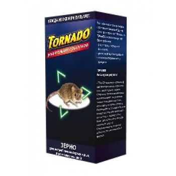 Торнадо зерновая приманка для грызунов (150 гр): купить в Москве и СПб